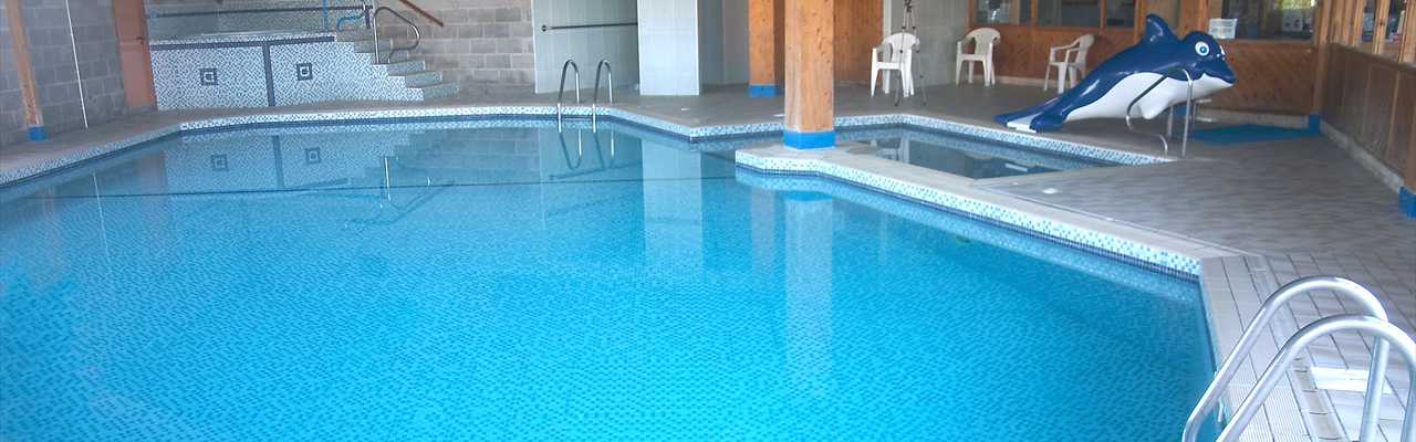 Open times of pool and bar restaurant at spring lea - Campsites in cumbria with swimming pool ...
